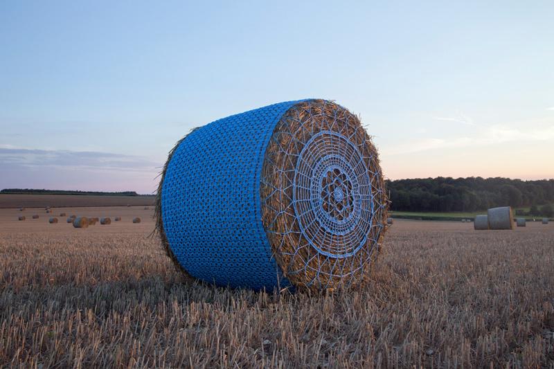 Ficelle agricole bleue